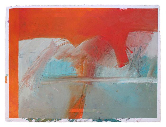 phil stallard art abstract on paper